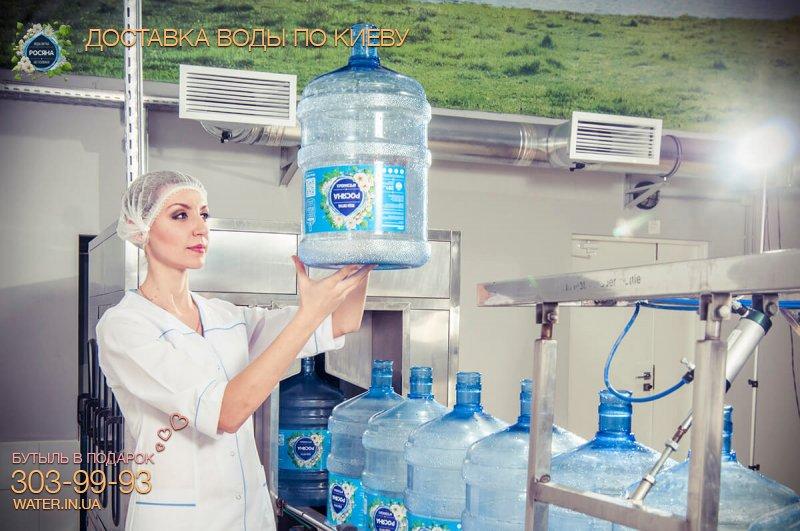 Вода в бутылях. Росяна